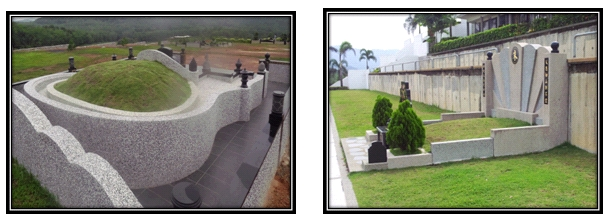 Traditional Grave vs Modern Grave