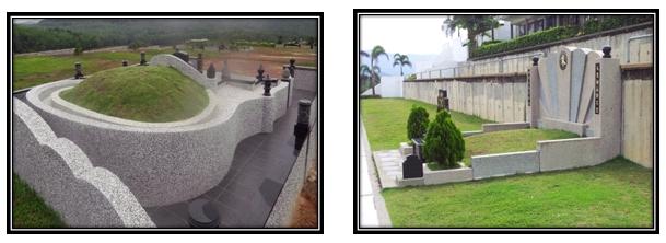 Traditional Grave vs Modern Grave