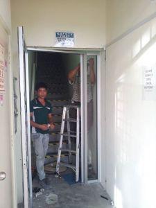 door fixing
